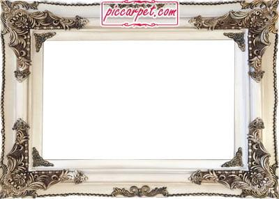 نمونه قاب چوبی برای تبدیل عکس به فرش