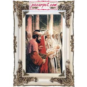 تابلو فرش تولد حضرت مسیح