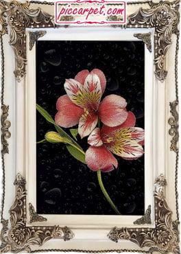 تابلوفرش گل جهت خرید کادو ولنتاین